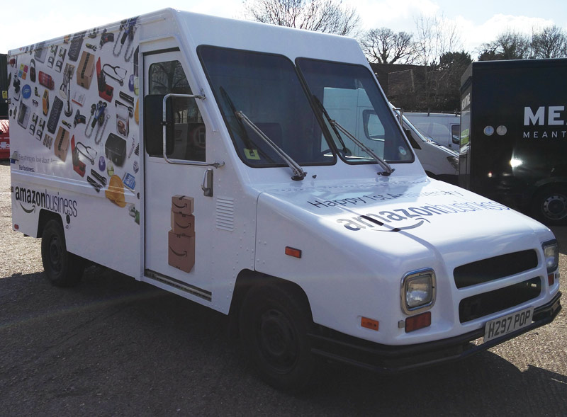 US Postal Truck Wrap