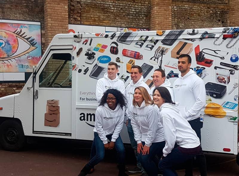 Amazon Custom Postal Truck