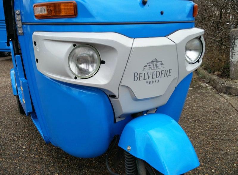 Belvedere Tuktuk Vinyl