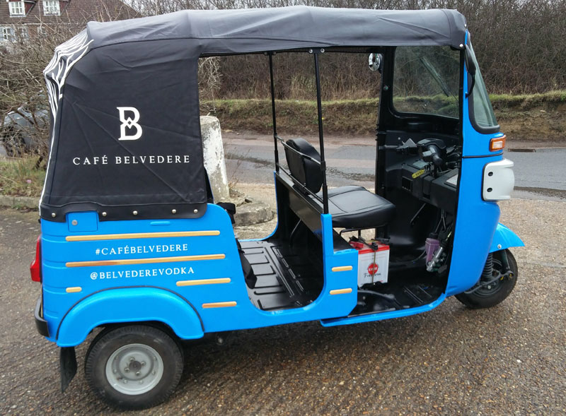 Belvedere Tuktuk Hire