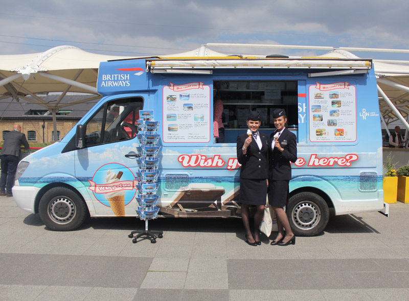 BA Ice Cream Van Hire