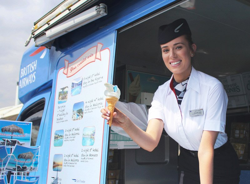 Ice Cream Van Hire British Airways