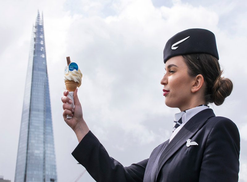 BA The Shard Ice Cream Van Hire
