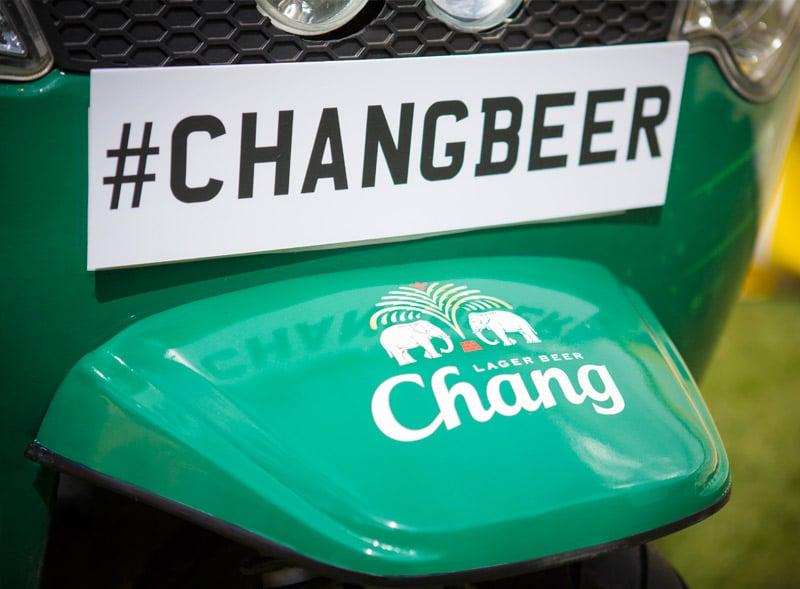 Chang Beer Customised Tuk Tuk