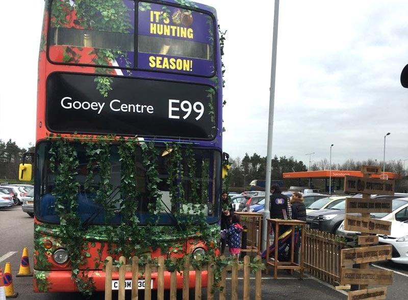 Gooey Centre Bus Decal