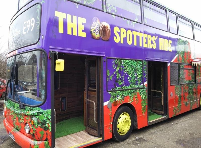 Creme Egg London Bus Wrap