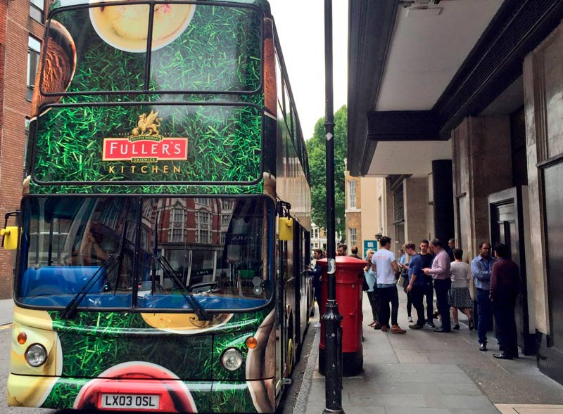 Fullers Kitchen Double Decker Bus
