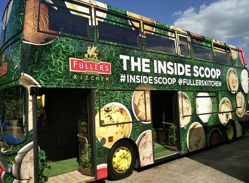 The Inside Scoop Double Decker Bus