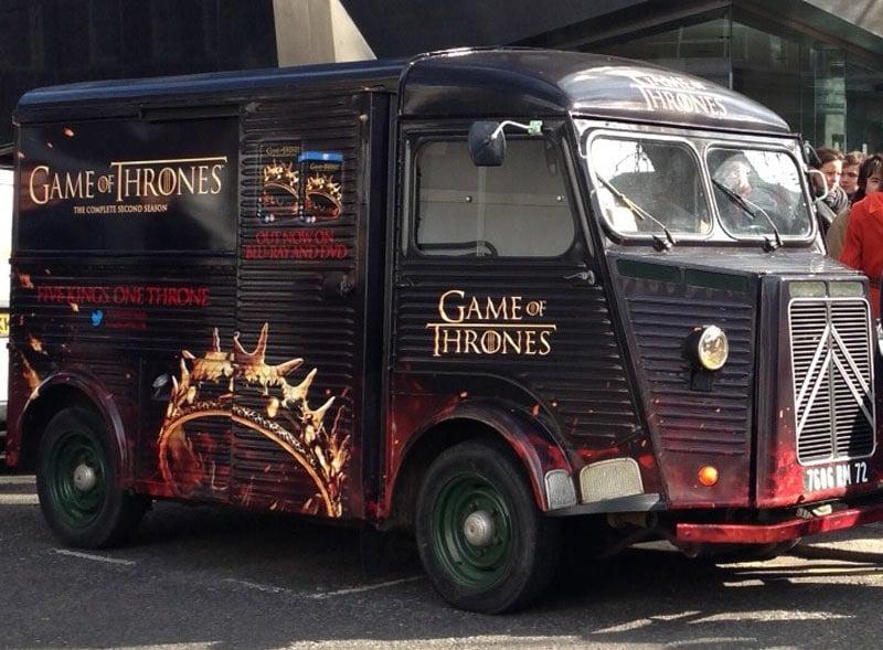 Game of Thrones Truck
