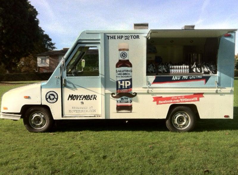 HP US Postal Truck