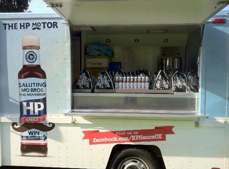 HP Sauce Truck