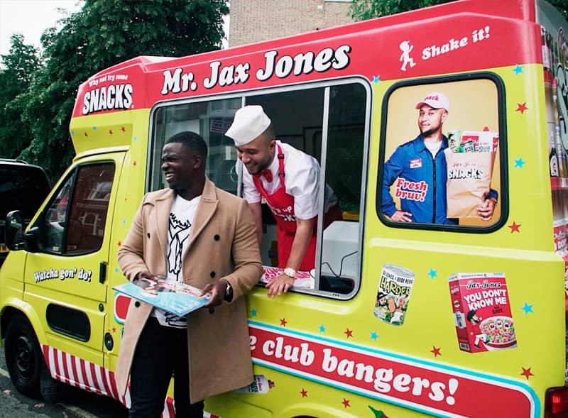 Jax Jones Ice Cream Van Rental