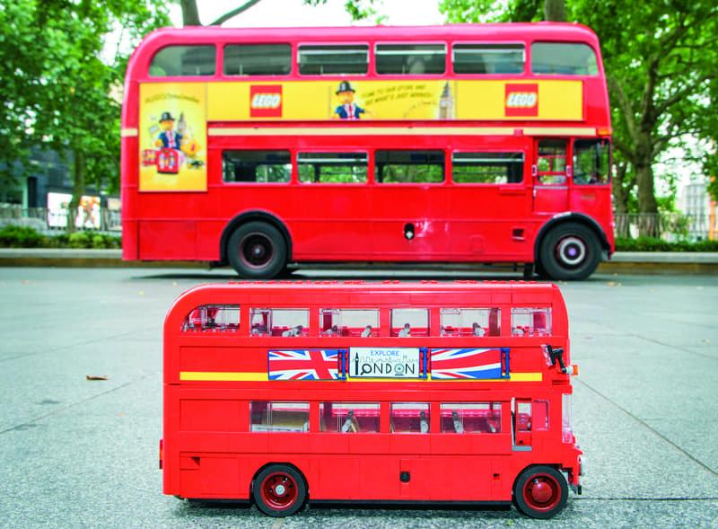 Lego Bus Rental