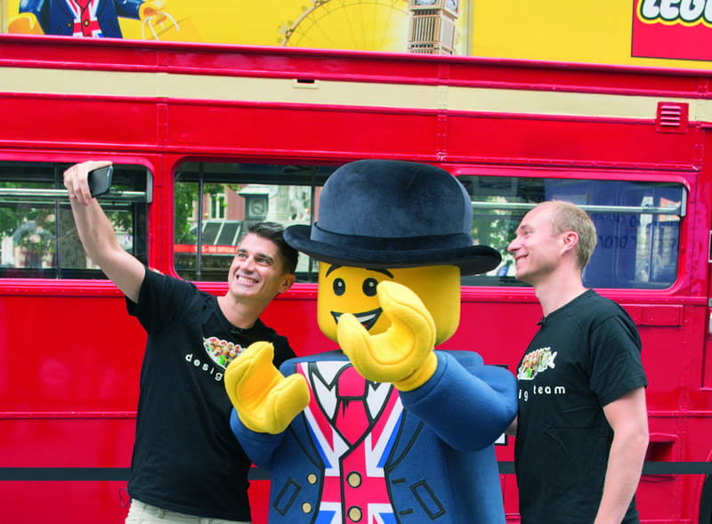 Lego Man Bus Hire