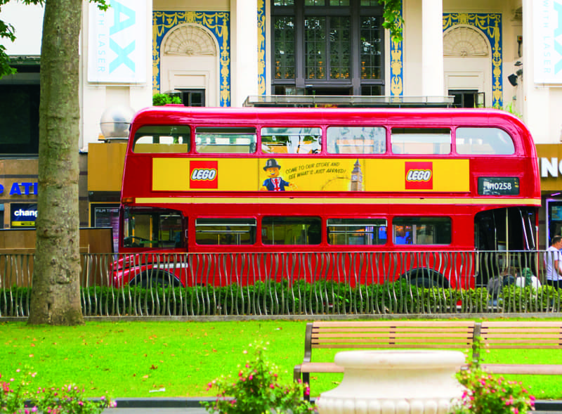 Lego Bus London