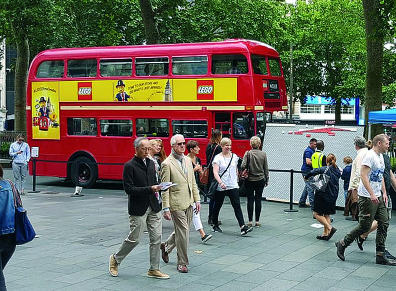 Lego Routemaster Bus