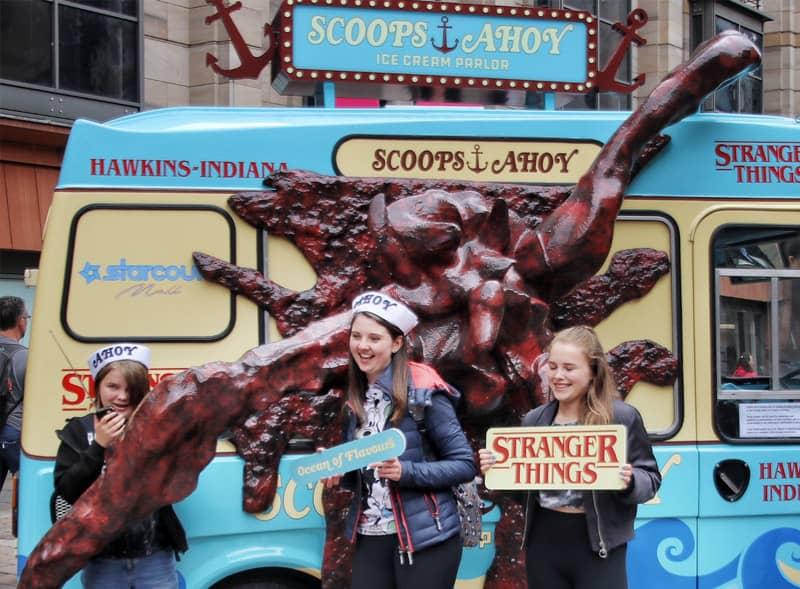 Scoops Ahoy Ice Cream Van Hire