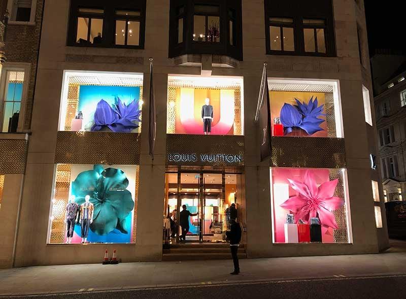 Luis Vuitton Shop Promotion