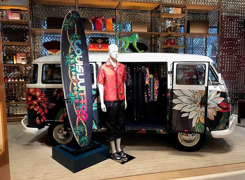 Luis Vuitton Surf Promotion