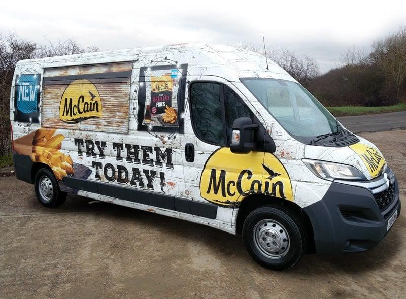 McCain Modern Catering Van Hire