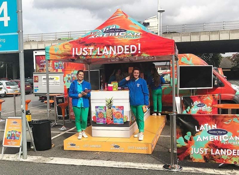 Latin American Branded Catering Van Rental