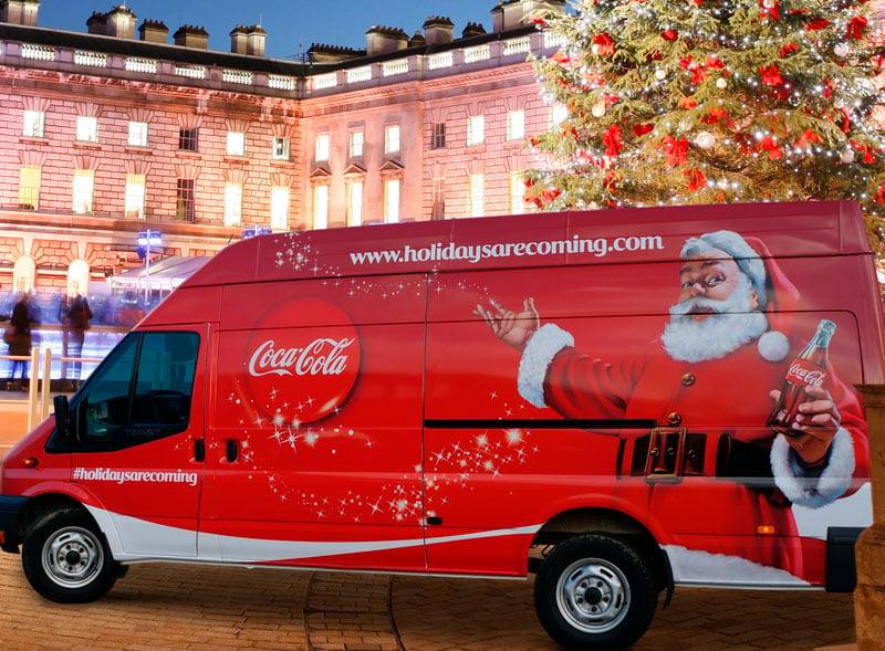 Coca Cola Support Van