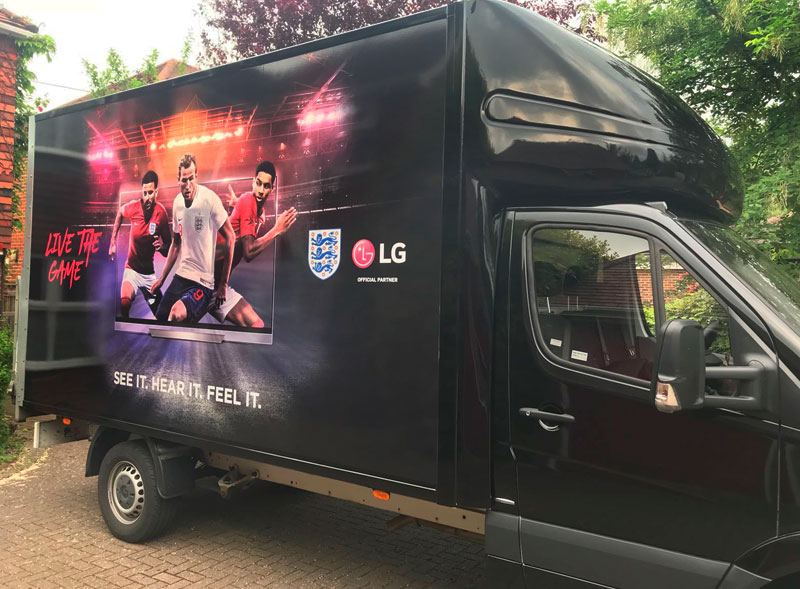 LG Luton Van Wrap
