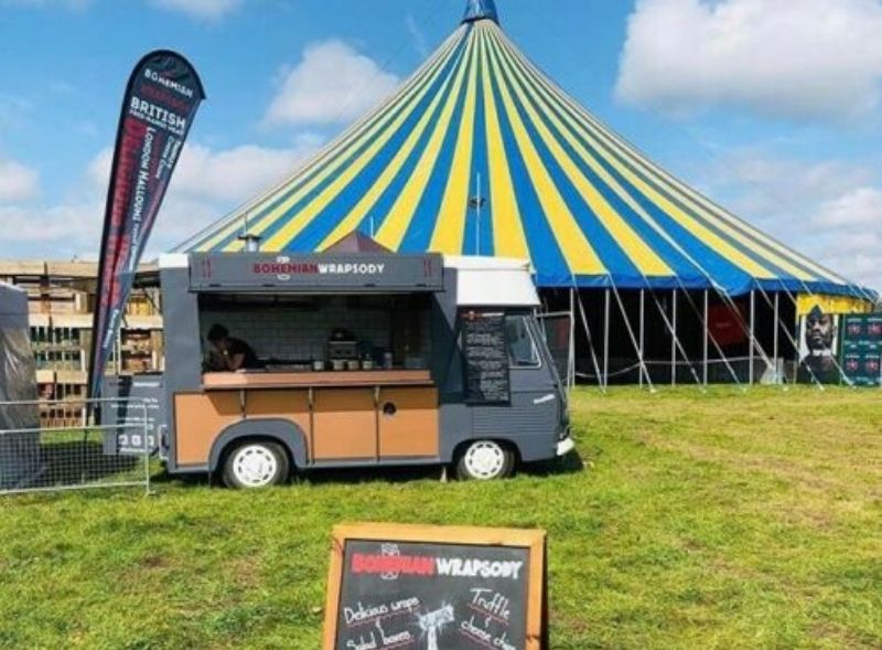 Bohemian Wrapsody Peugeot Food truck restoration and conversion
