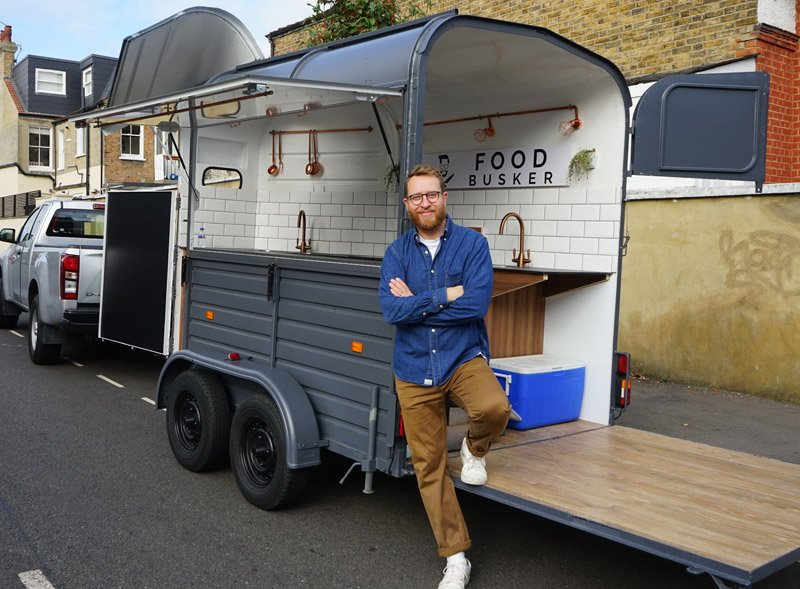 Food Busker trailer conversion