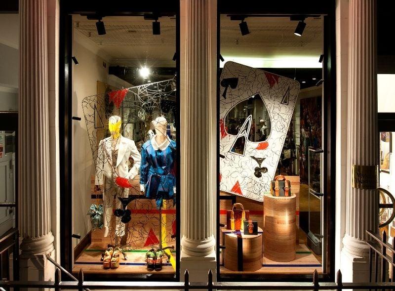 Vivienne Westwood Retail Store Window Display