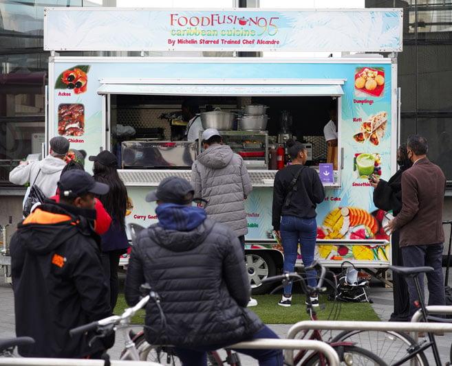 Food Fusion street food trailer build