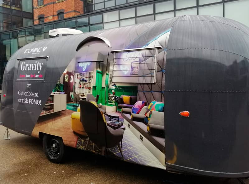 Gravity Iconic Airstream Hire