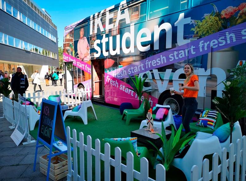 Ikea Student Promotional Bus Tour