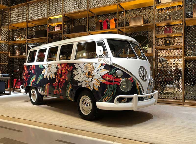 Louis Vuitton Camper Van Hire