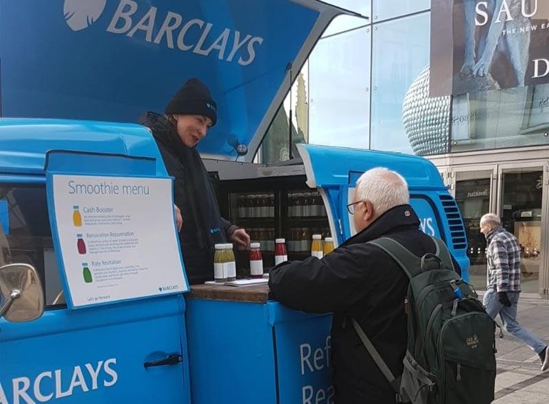 Barclays camper hire