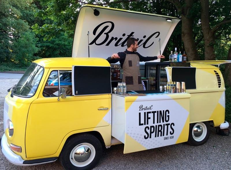 Britvic pop up camper hire