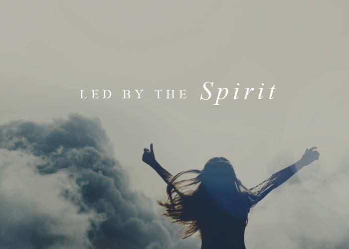 Led by the Spirit | Nov. Monthly Blog