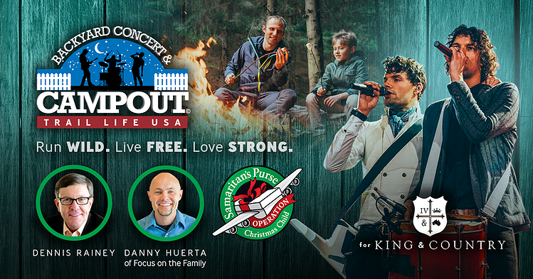 Trail Life USA Celebrates Families with Second Annual Backyard Concert and Campout Event