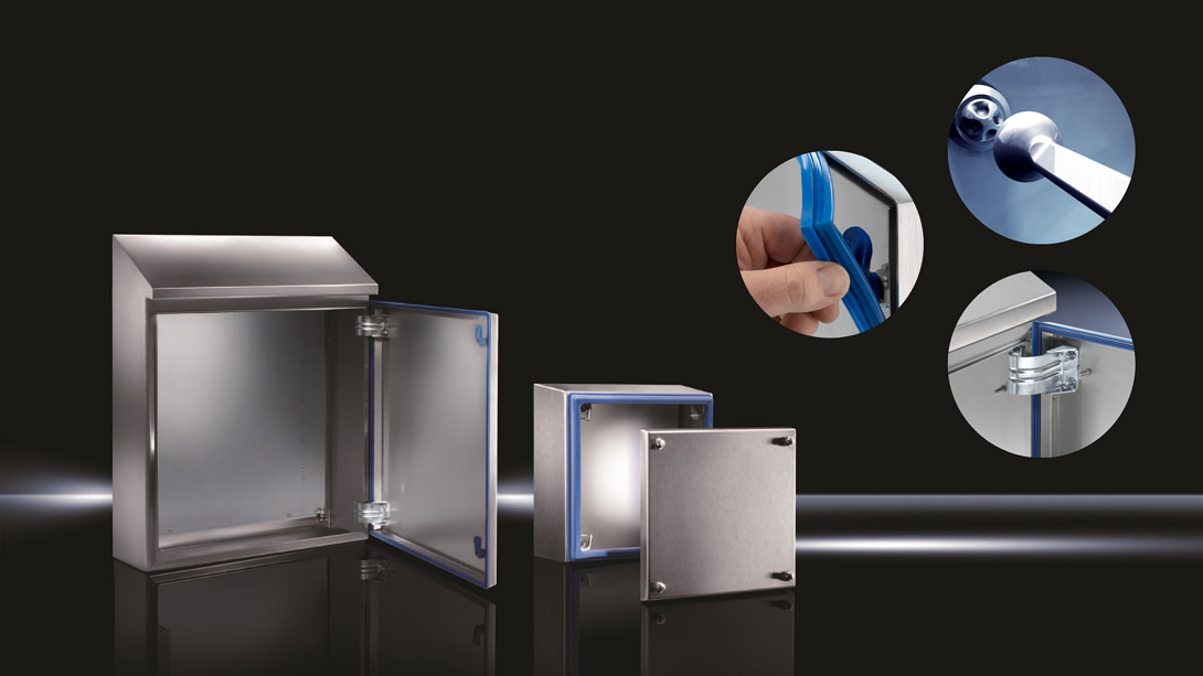 Hygienic design enclosures for food and beverage production