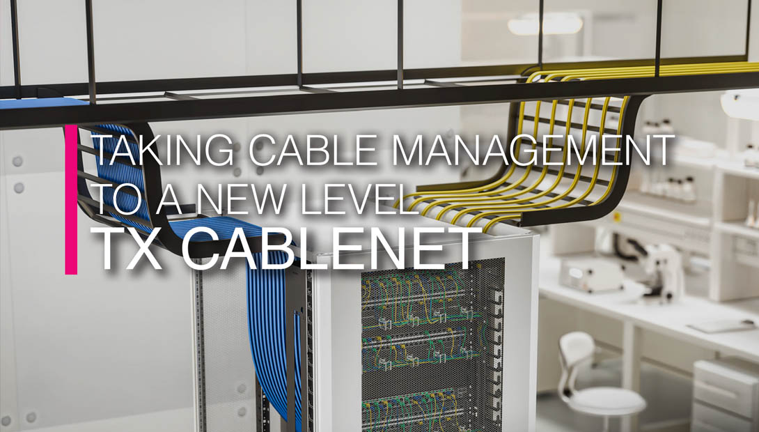 TX Cablenet IT Rack from Rittal