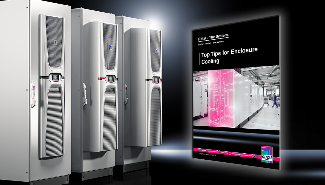 Enclosure cooling tips from Rittal