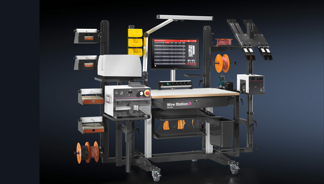 Rittal Wire Station 540 mobile wiring table