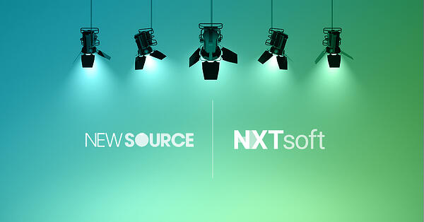 NXTsoft and New Source Logo