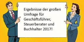 Große Umfrage: Was Geschäftsführer, Steuerberater und Buchhalter in Österreich im Alltag beschäftigt
