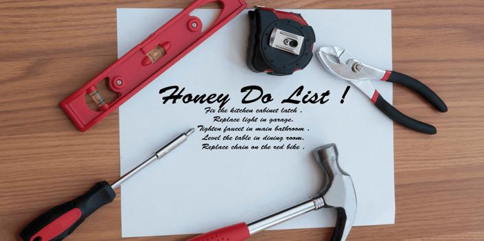 Make Your Honey Do List a Honey Done List