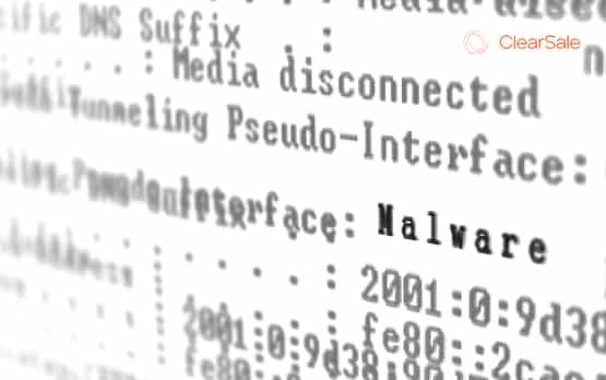 Código com Malware identificado