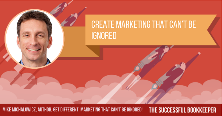 Mike Michalowicz, Author, Get Different: Marketing That Can't Be Ignored!