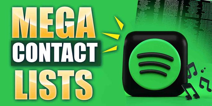 Mega Spotify Playlist Curator Contact List (For Free!)