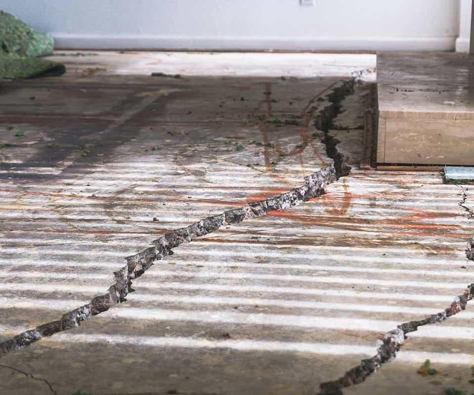 Cracked Foundation Slab (Dalinghaus)