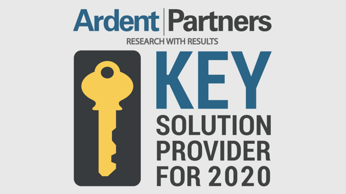 Ardent Partners Names Utmost a Key Provider to Know in the 2020s
